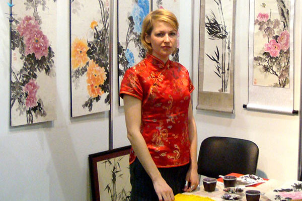 Orient art classes and demonstrations
