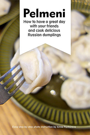 Russian pelmeni cookbook